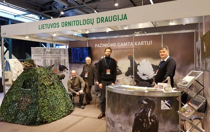 Lietuvos ornitologų draugija dalyvavo parodoje ADVENTUR 2018